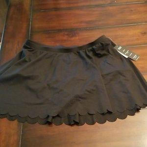 Torrid black skater skirt